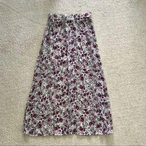 NEW Brandy Melville floral skirt